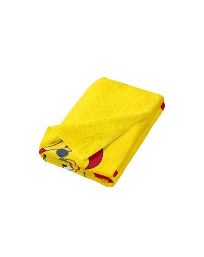 Ręcznik plażowy żółty