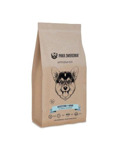 Dziczyzna i łosoś 12 kg sucha karma dla dorosłych psów