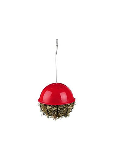 Piłka metalowa do zawieszenia na siano 16 cm