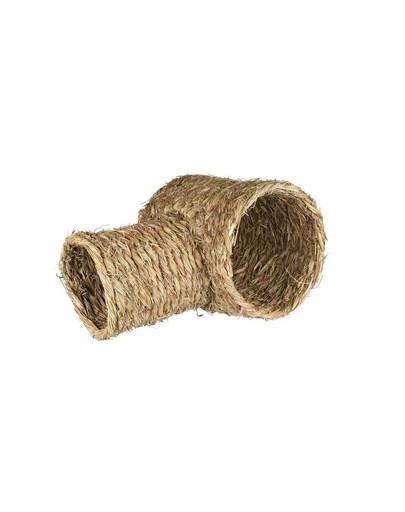 Tunel z trawy dla królika. 28 cm