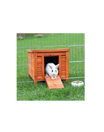 'Natura' outdoor house for rabbits. 42 x 43 x 51 cm