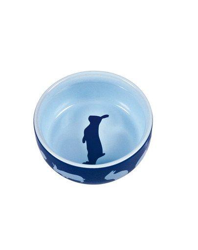 Miska ceramiczna dla królika z motywem 250 ml