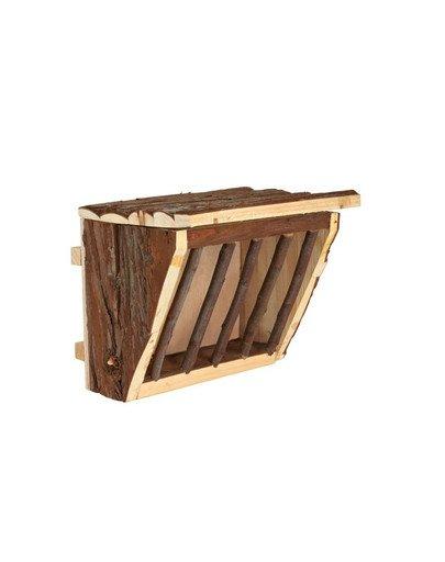 Drewniany uchwyt do siana