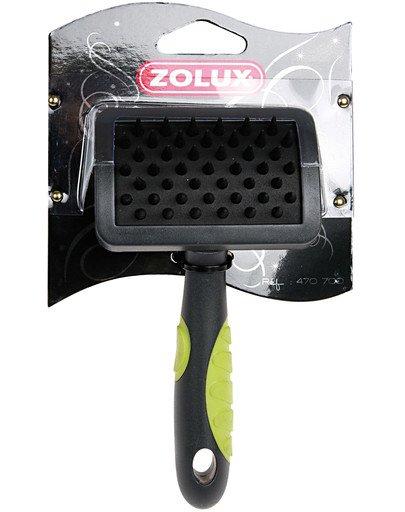 Zolux bursten - szczotka kauczukowa mała.