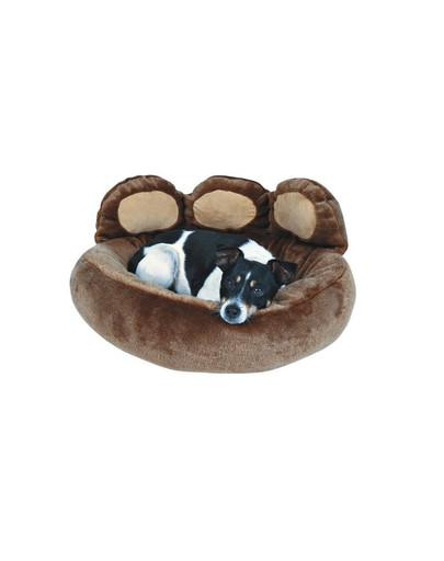 Legowisko dla psa donatello 60 x 50 cm brązowe