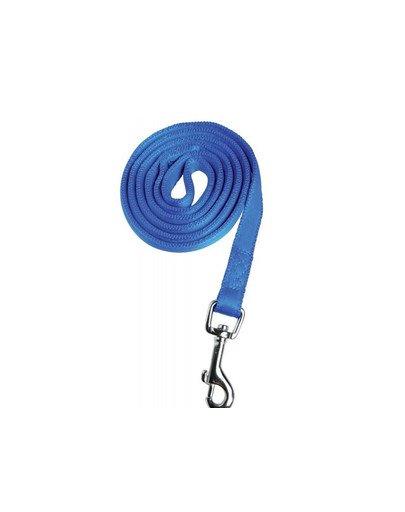 Cushion smycz taśma 15mm/1.2m niebieska