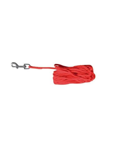 Smycz nylonowa 5 m / 55 mm czerwona