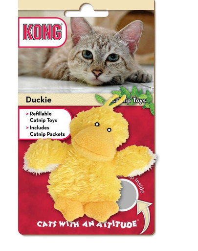 Zabawka dla kota kaczuszka