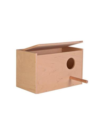 Domek dla papug 30/20/20 drewniany
