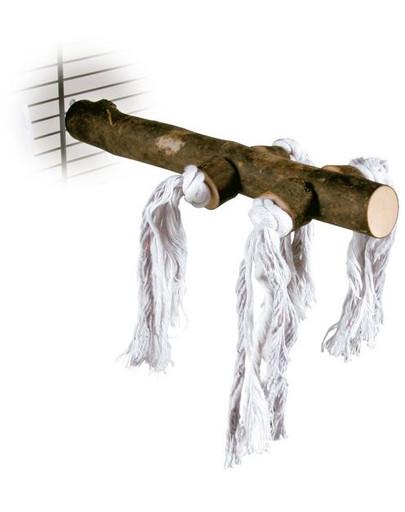 Kij ze sznurkami do klatki 25 cm
