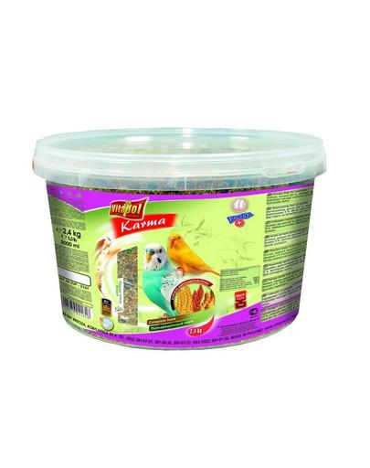 Karma dla papużki falistej 3 l - 2.4 kg