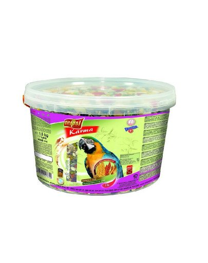 Pokarm dla dużej papugi 3 l - 1.5 kg