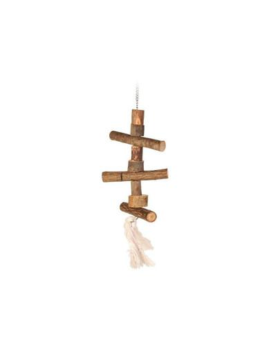 Zabawka dla nierozłączek drewniana