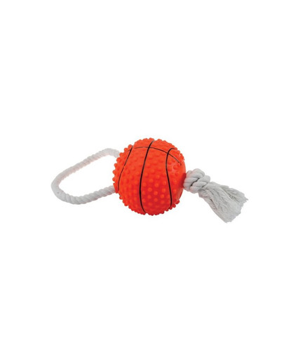 Basketball with rope 11 cm