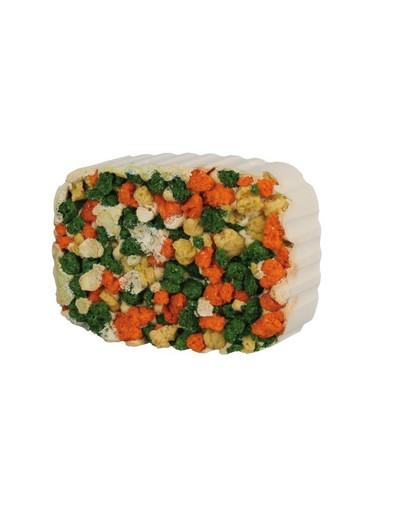 Wapno dla gryzoni z algami i marchewką