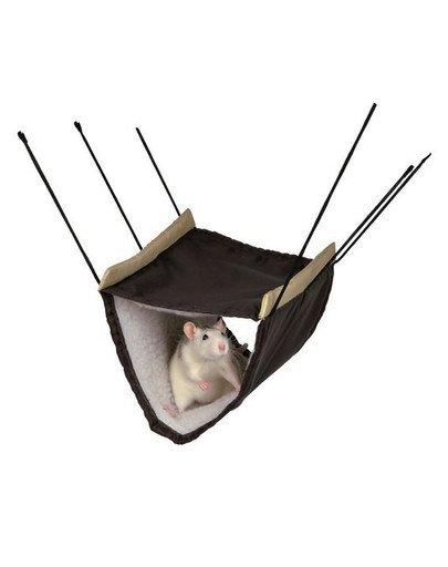Hamak dla szczura i fretki 22 x 15 x 30 cm
