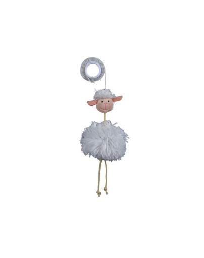Owieczka na elastycznej taśmie  20 cm