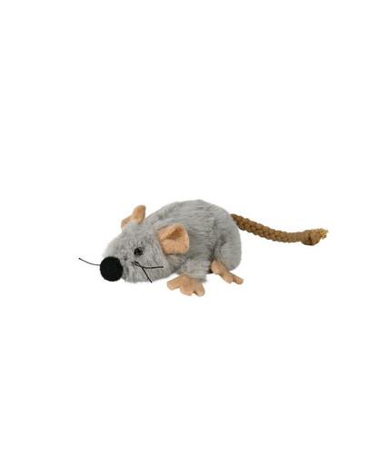 Mysz pluszowa z kocimiętką 7 cm