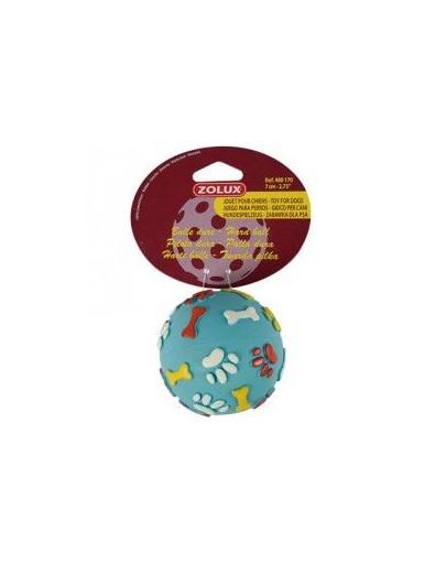 Zabawka gumowa twarda piłka 7 cm