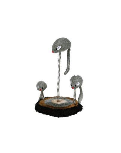 Myszy na sprężynie 3 szt/op (30 cm)