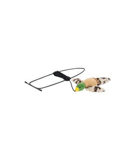 Zabawka latajacy ptak do mocowania na framudze drzwi zielony