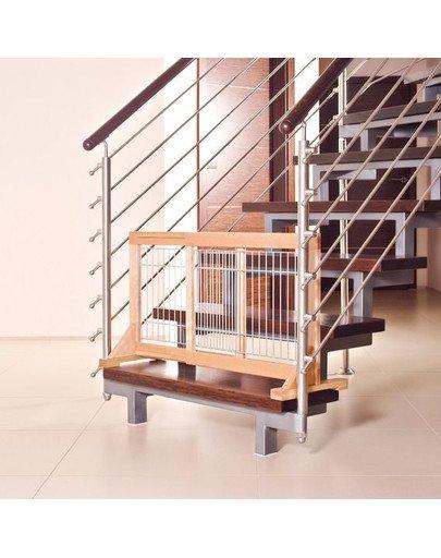 Barierka drewniana 63-108 x 50 x 31 cm