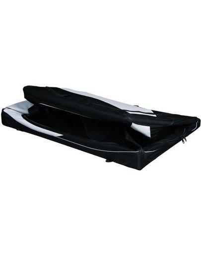 Box transportowy vario nylon czarno-szary 76 × 48 × 51 cm