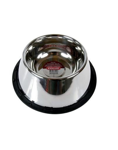 Miska inox na gumie dla spaniela 25 cm 0.98 L