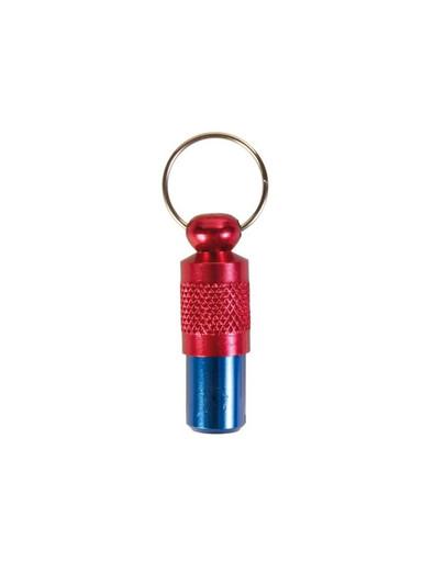 Adresówka niebiesko-czerwona