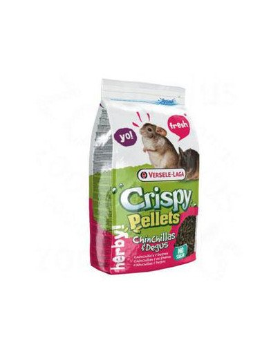 Prestige 1 kg crispy pellets chinchilla