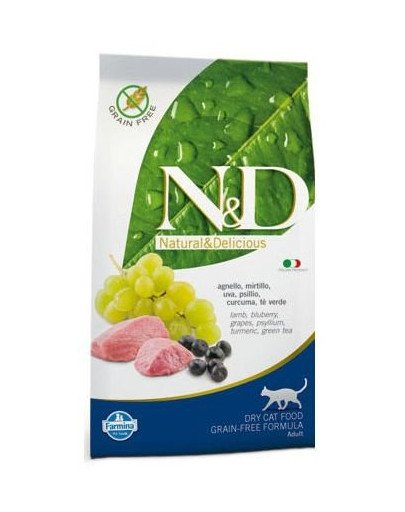 N&D lamb & blueberry adult cat 1.5 kg
