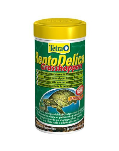 ReptoDelica Grasshoppers 250 ml