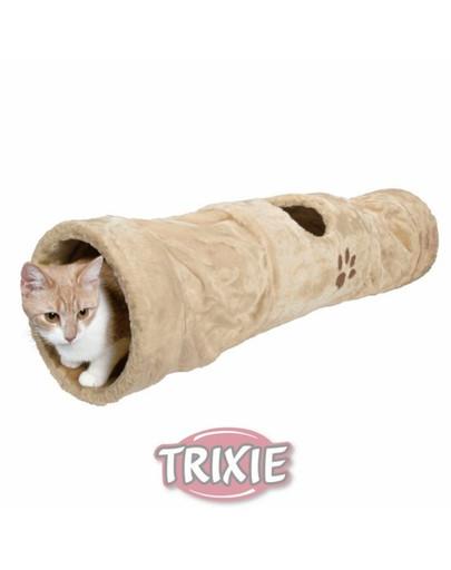 Tunel dla kota 60/20 cm beżowy