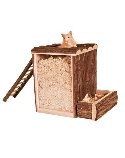 Wieża dla myszek. 20 x 20 x 16 cm