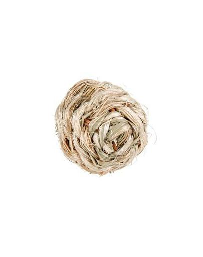 Piłka z trawy z dzwonkiem 6 cm