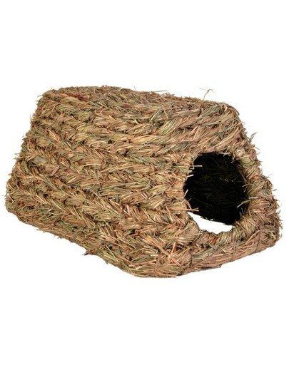 Domek z trawy dla gryzoni.28 x 18 x 13