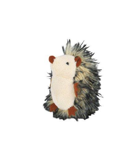 Zabawka jeż z kocimiętką i dźwiękiem 8 cm