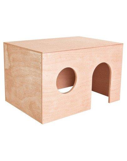 Domek dla świnki morskiej. duży. 27 x 17 x 19 cm