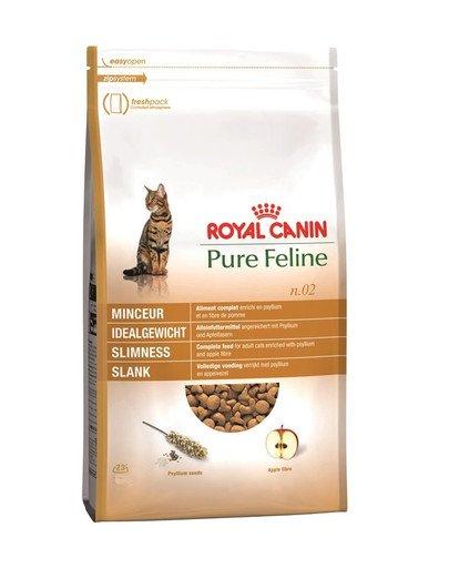 Pure feline n.02 (smukła sylwetka) 3 kg