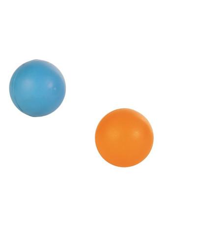 Piłka z naturalnej gumy twarda  6.5 cm