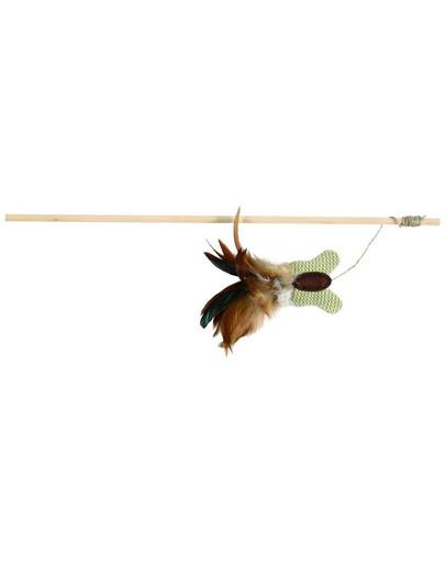 Wędka z piórami 45 cm