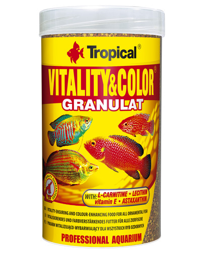 Vitality and Color granulat 250 ml (138 g)  puszka