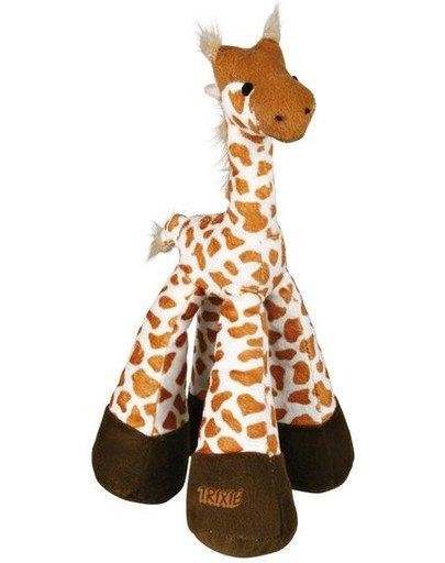 Zabawka żyrafa pluszowa z dźwiękiem 33 cm