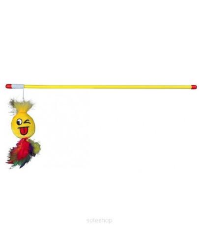 Wędka dla kota z zabawką pluszową 50 cm