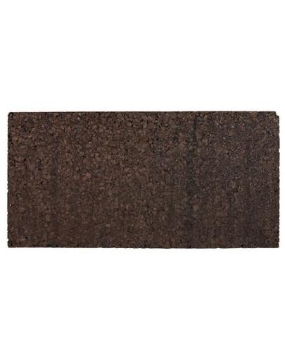 Ścianka korkowa prasowana czarna 100 x 50 x 2 cm