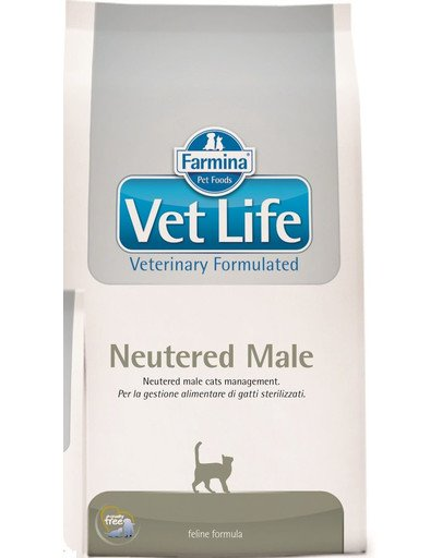 Vet life neutered male cat 2 kg