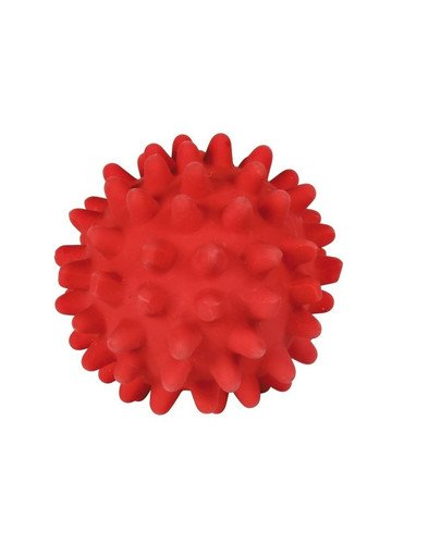 Piłka z kolcami i dźwiękiem 6 cm