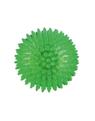 Piłka kolorowa z termogumy  śr. 8 cm