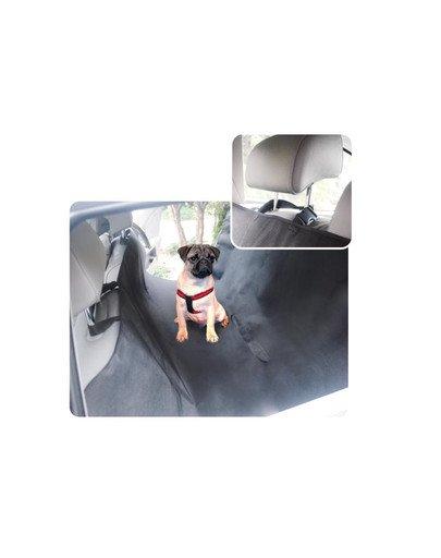 Mata samochodowa exclusive czarna 1.4 x 1.5m