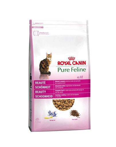 Pure feline n.01 (piękna sierść) 3 kg